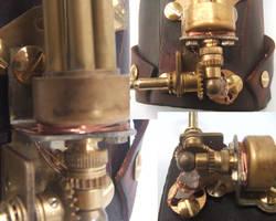 Steampunk wristgun 2 by Hexonal