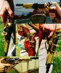 Steampunk Modded Revolver
