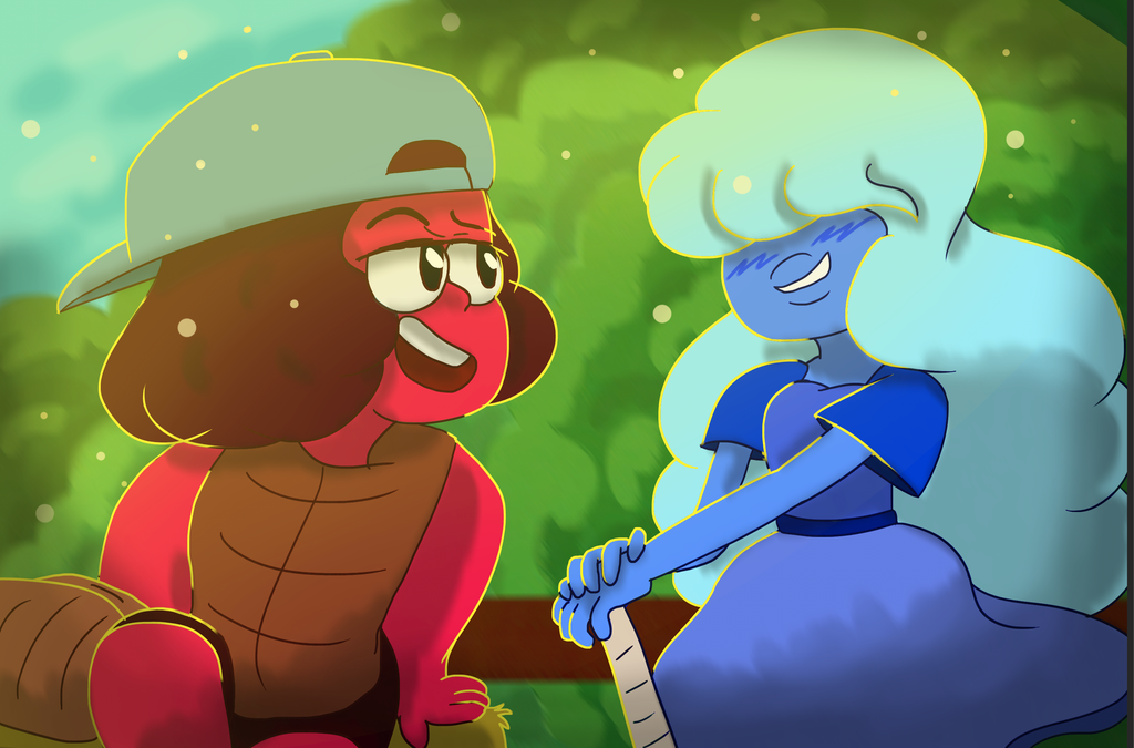Featuring Flirty!Ruby and Cute!Sapphire I'm still working on the SU AMV