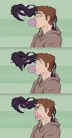 Venom Pops Eddie's Bubblegum