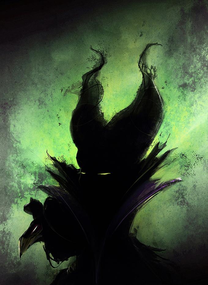 Maleficent By Avallois On Deviantart