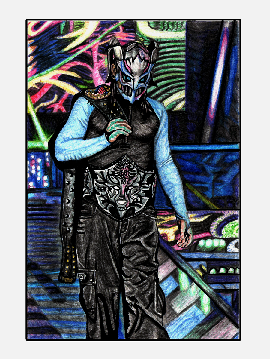 Jeff Hardy Drawing Panel 2 By Redchaos187 On Deviantart Jeff Hardy Color Drawing