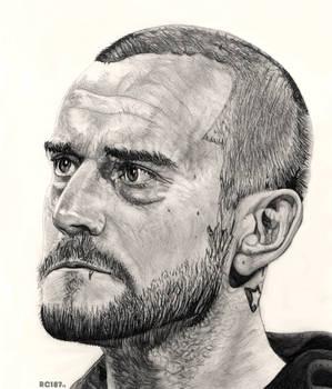 CM Punk Drawing