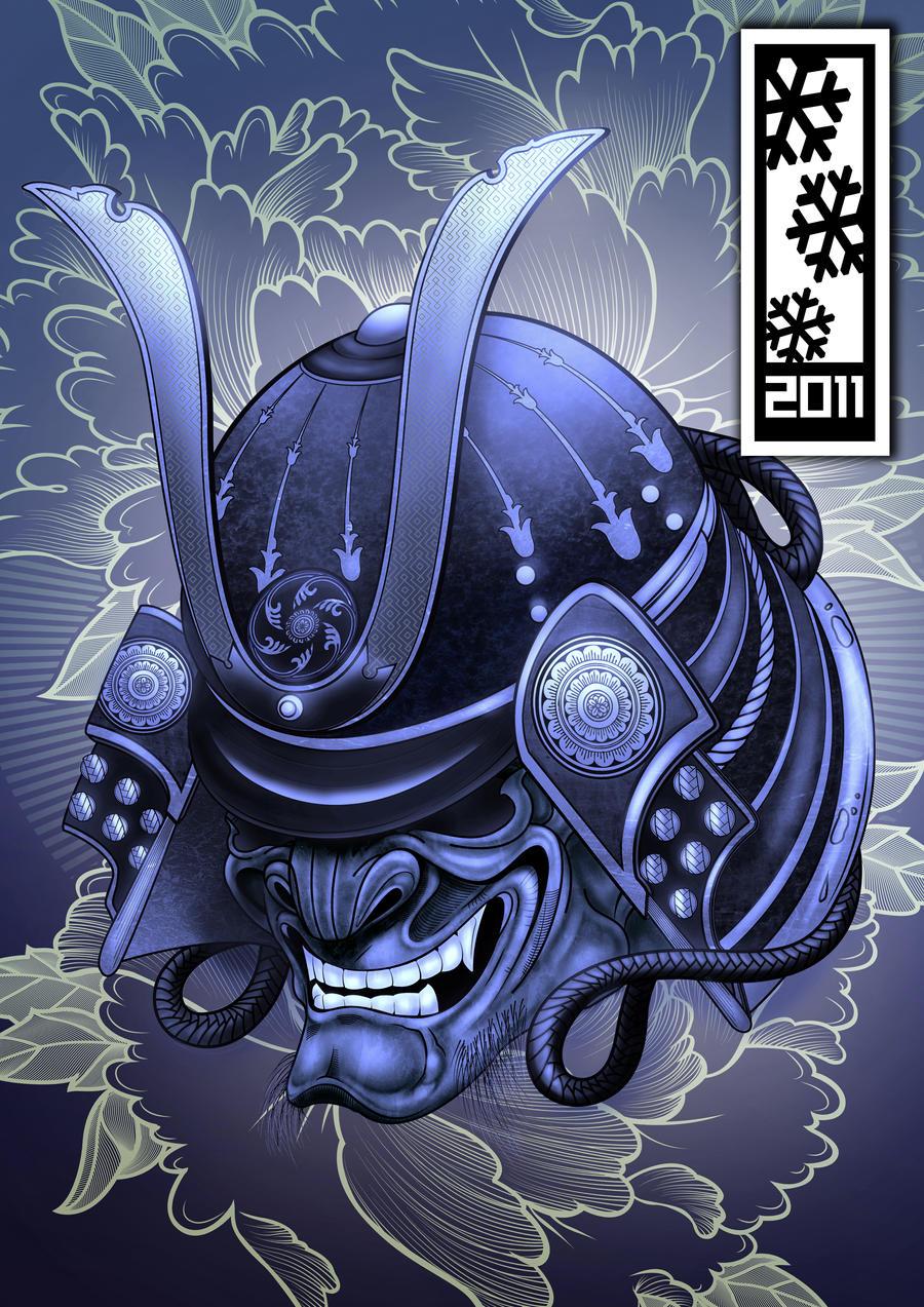 Samurai Warrior Mask Tattoo Meaning
