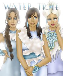 Water Tribe Beauties by archibaldart