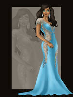 Miss Esmeralda by archibaldart