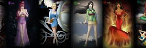Seven Disney Sins by archibaldart