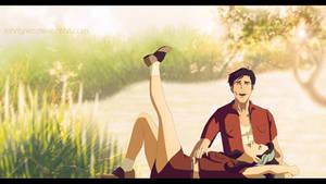 Summer Love by archibaldart