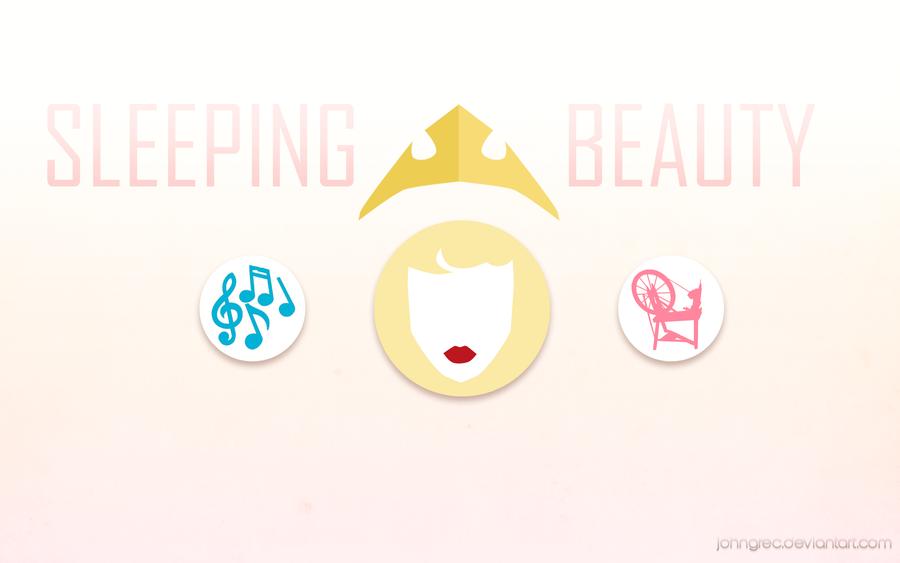 DISNEY MINIMALIST: Sleeping Beauty by johngreeko on DeviantArt