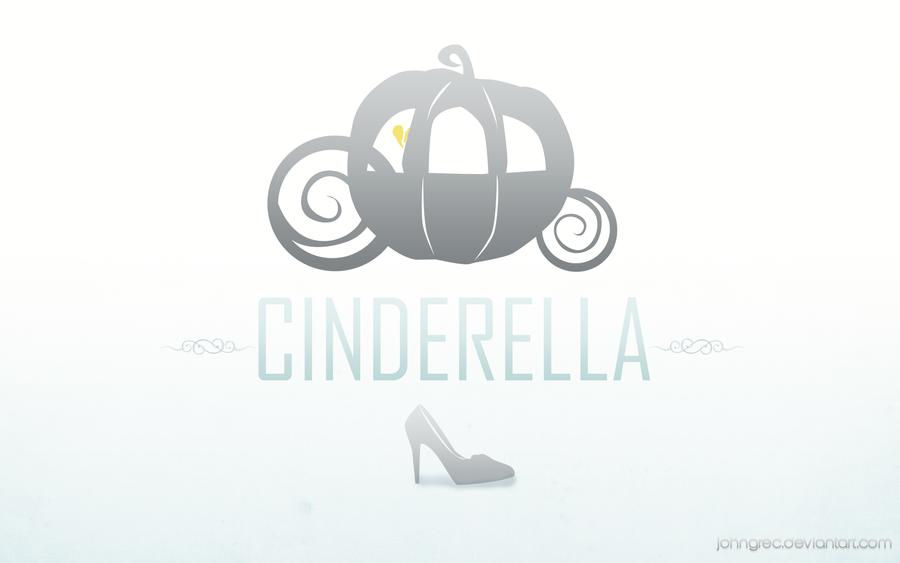 DISNEY MINIMALIST: Cinderella by johngreeko