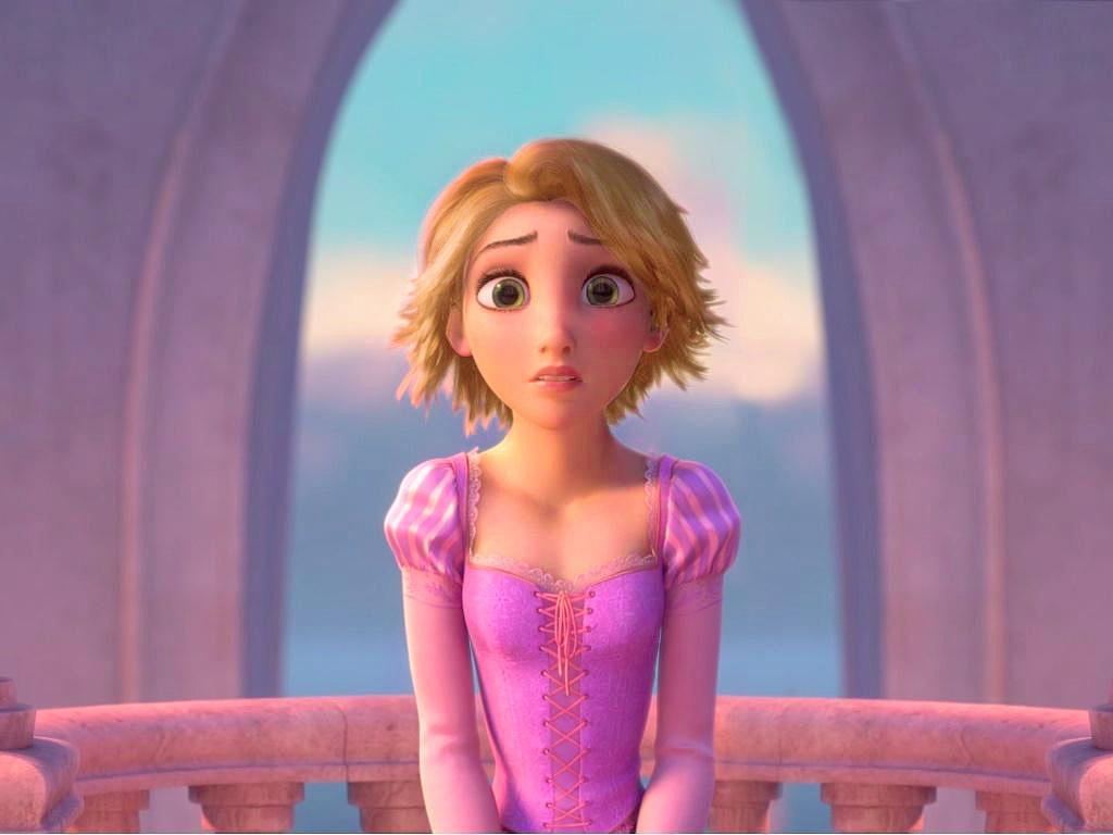 Rapunzel Short Blonde Hair