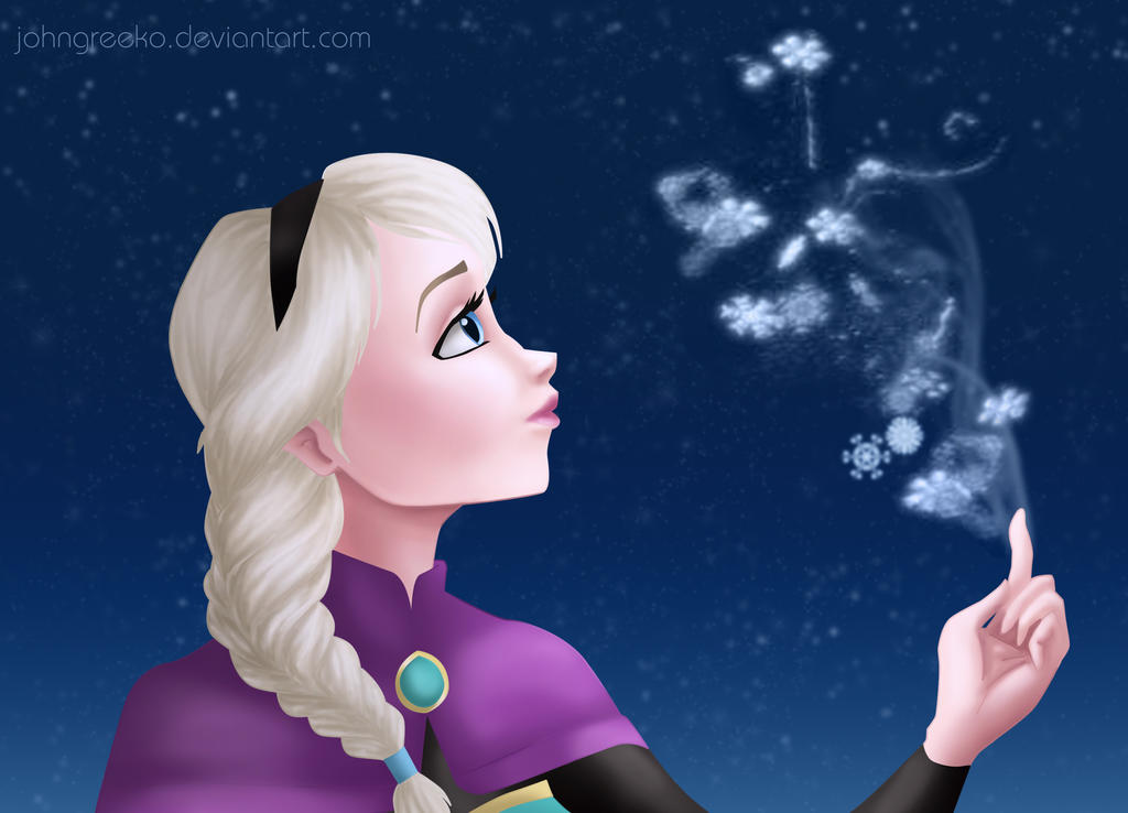 Princess Elsa of Arendelle by johngreeko