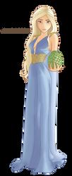 DISNEYFIED: Daenerys Targaryen by archibaldart