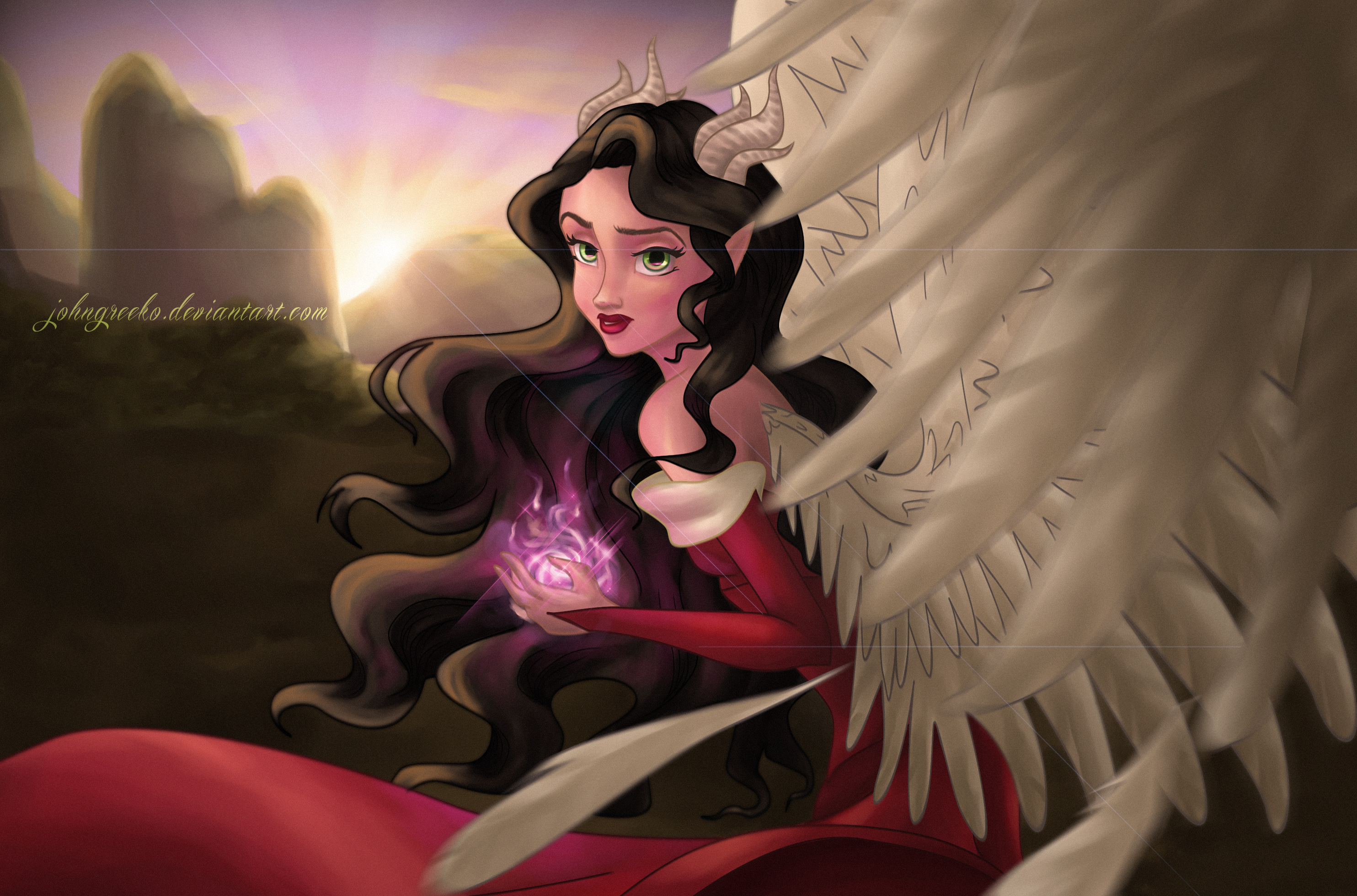 Sinborn Wings: Isabelle 'FREEDOM' by johngreeko