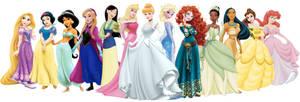 Official Disney Princess Line Up