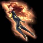 Jean Grey Phoenix by archibaldart