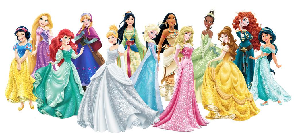 Dos disney princess group bod that