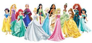 Official Disney Princess by archibaldart