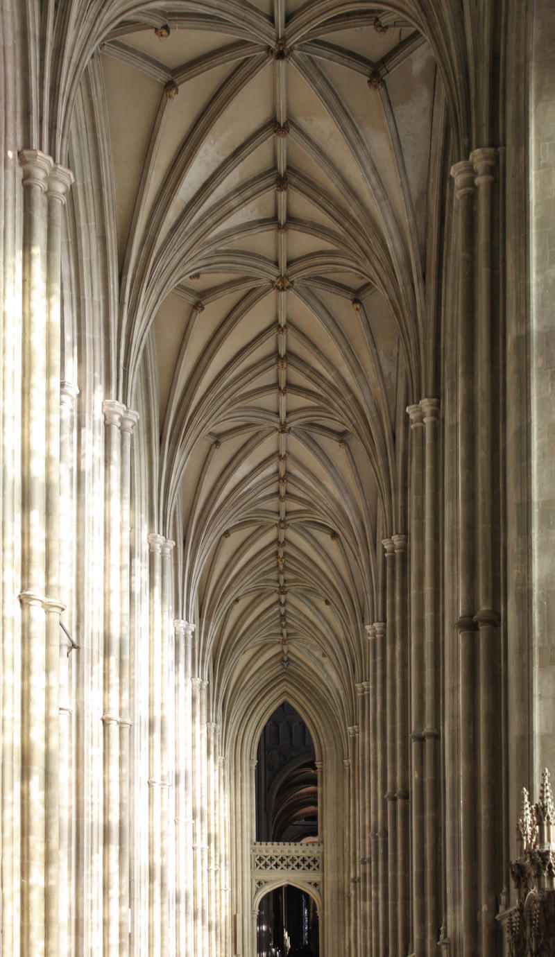 Canterbury Cathedral Interior Gothic by john-uk on DeviantArt Canterbury Cathedral Gothic Architecture