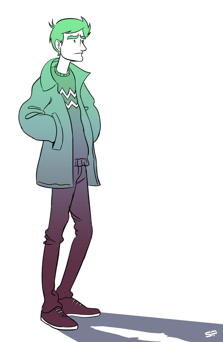 Jacket Guy by SchalkeP