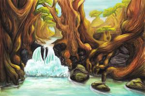 Cascada by Meajy