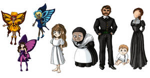 Bluebell Characters