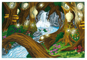 The Fairy Forest (Coloration)