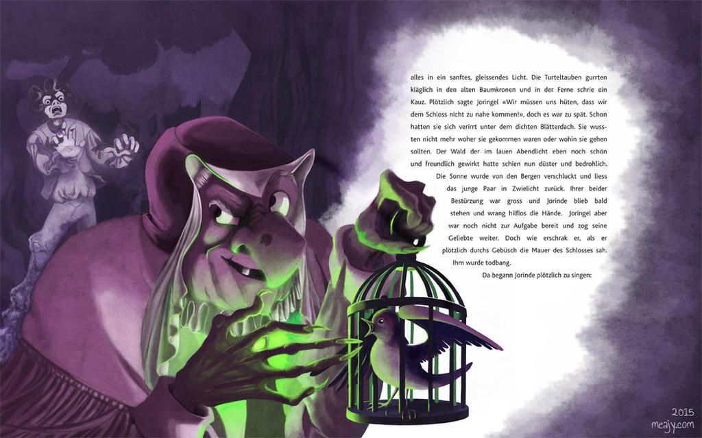 Joringe and Jorinde Page 3 by Meajy