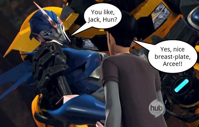 Transformers Prime Arcee And Jack Fanfiction Romance Tfp: jack x arcee by ecs-