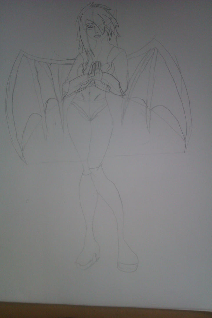 Demonique sketch WIP by ECs-Overlord