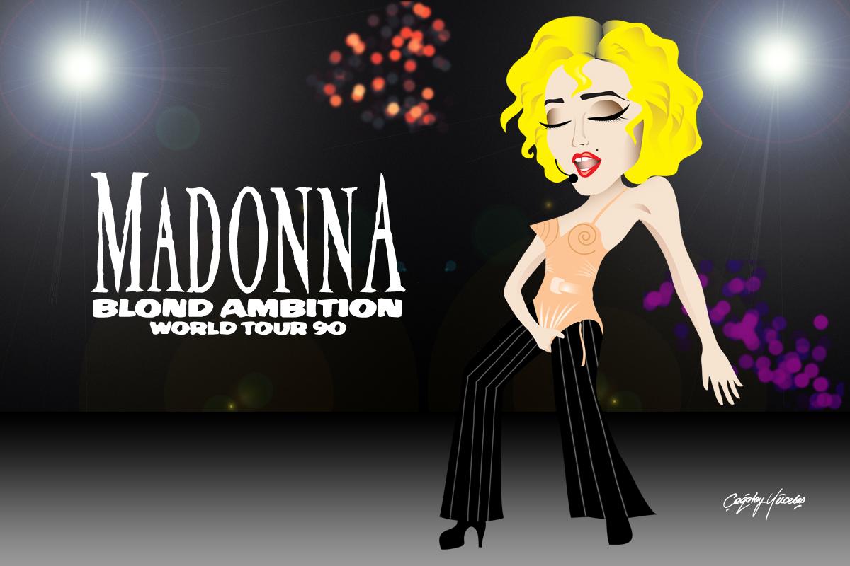 Blonde Amition Tour Professional Recording