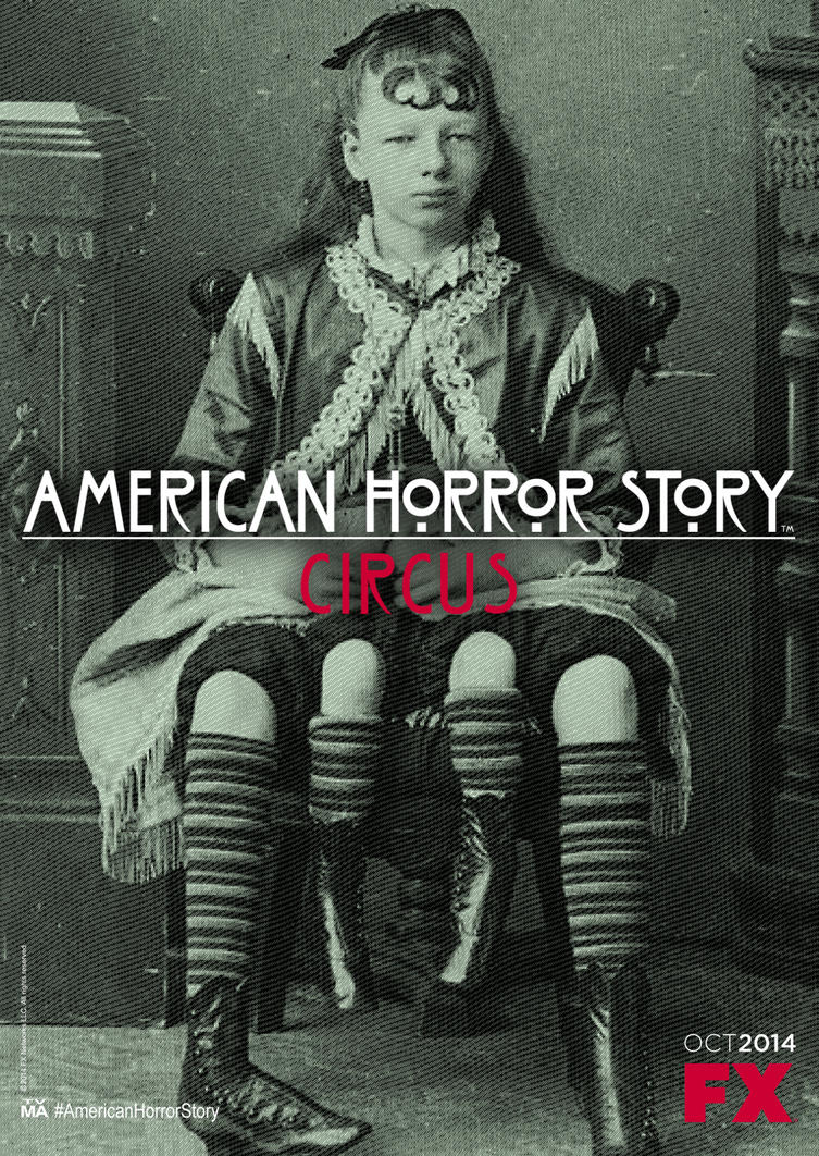 American Horror Story - Circus (teaser poster) by Ludingirra
