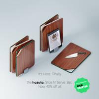 The HAZUTO Slice N' Serve Set