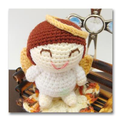 Amigurumi Angel Doll : elvis amigurumi angel doll by saplanet on deviantART