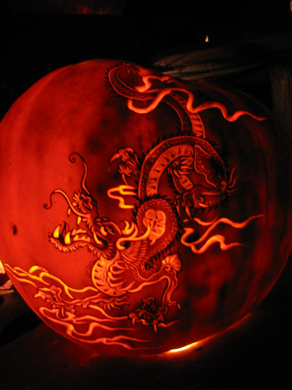 Pumpkin - Chinese Dragon by snerk