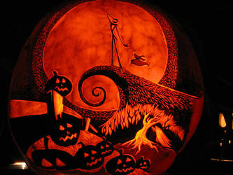 Pumpkin - Jack Skellington by snerk