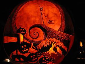 Pumpkin - Jack Skellington