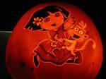 Pumpkin - Dora and Boots