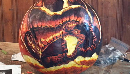 Smaug - Unlit Carve by snerk