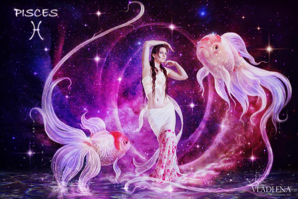 Zodiac Pisces By Vladlena111