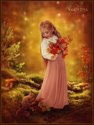 Rowan autumn by Vladlena111