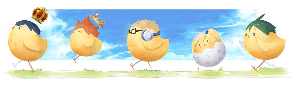 The Chicks of Karasuno by Inkumo