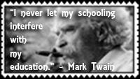 Mark Twain Schooling by Tripmastermunkie