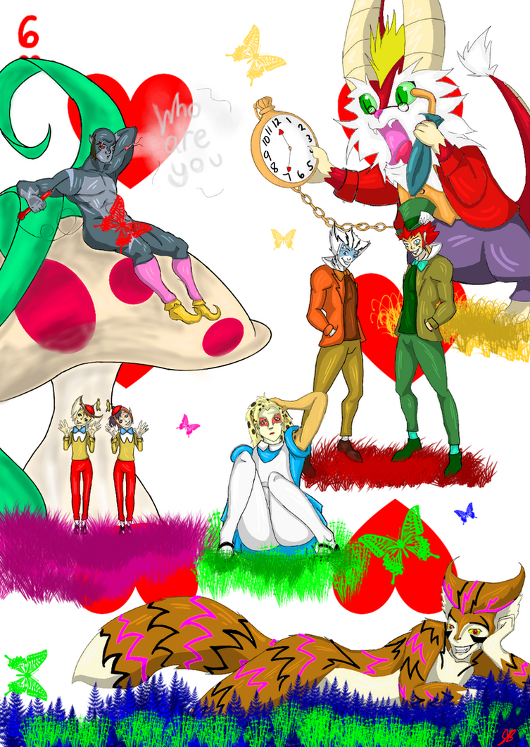 Cheetara in Wonderland by ShellsBell