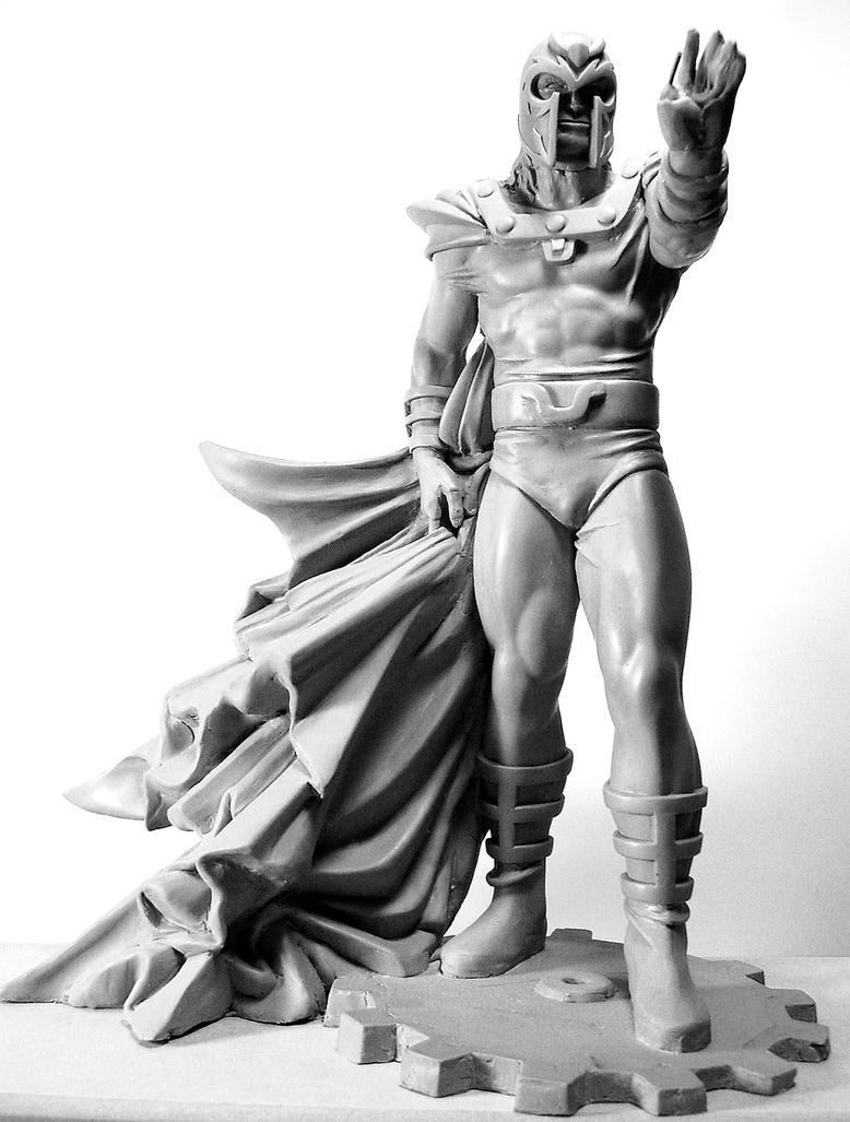 Magneto by rieraescultura-art