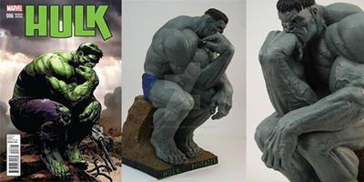 Portada de Hulk by rieraescultura-art
