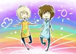 Rainbow walkin