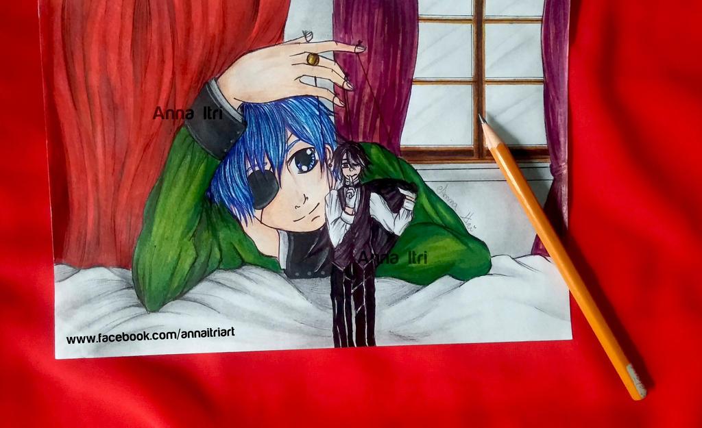 Fan art - Kuroshitsuji - Black Bulter by itrianna