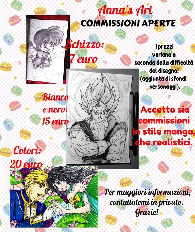 COMMISSIONI DISEGNI APERTE! by itrianna