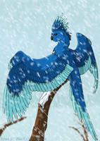 AT: The Ice Phoenix -Kiwi by WhitePhoenix7